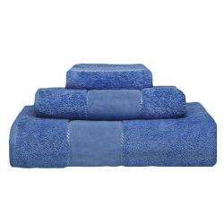 Juego Toallas Panama Color Azul