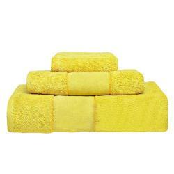 Juego Toallas Panama Color Amarillo