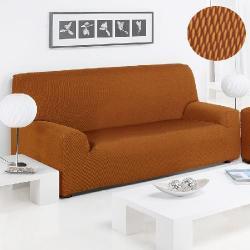 Funda Sofá Sandra Duo Color Naranja