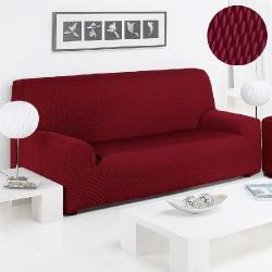 Funda Sofá Sandra Duo Color Rojo