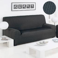 Funda Sofá Sandra Duo Color Negro