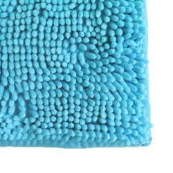 Alfombra Microfibra color Turquesa