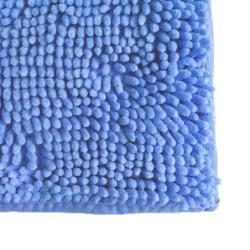 Alfombra Microfibra color Celeste