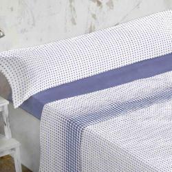 Sábanas Coralina Burrito Blanco R.960 - Azul