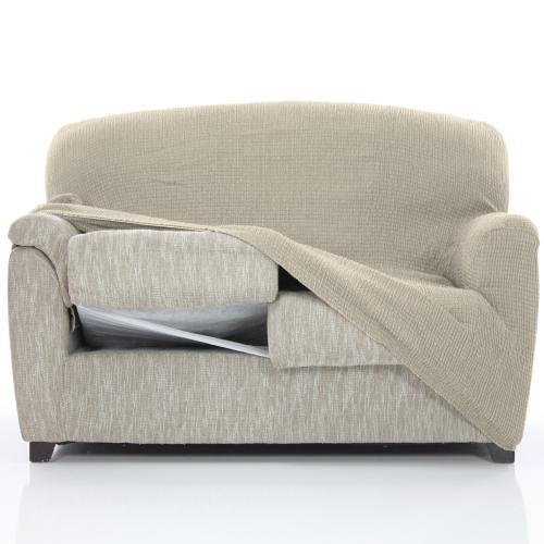 Nueva Textura Fundas Sofa.Funda Sofa Elastica Sandra 1 Plaza Sillon Nueva Textura Ajustable